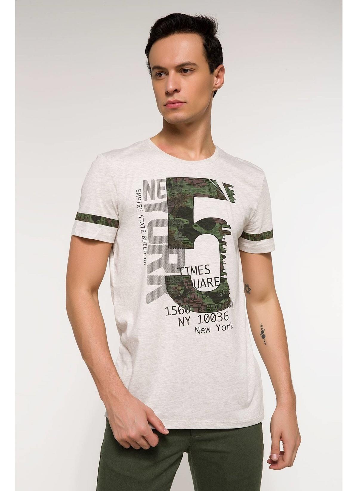 Defacto Long Fit Baskılı T-shirt I1516az18smbg300t-shirt – 19.99 TL